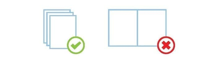 Booklet Page Layout Icon