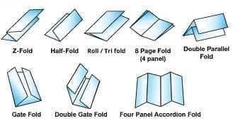 Brochure Folding Types